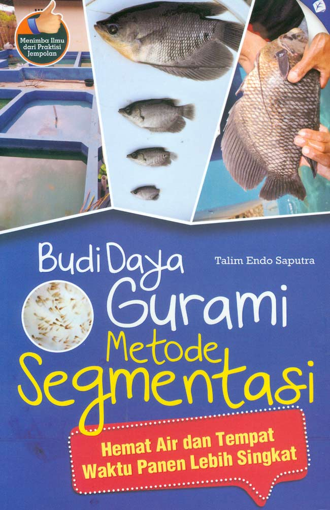 Budidaya gurame Metode Segmentasi