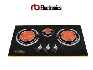 RB Infra Red Techno Triple Stove | Kompor 3 Tungku Hemat Gas 45%
