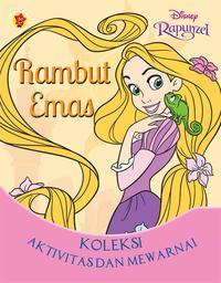 Koleksi Aktivitas Mewarnai Tangled Rambut Emas Rapunzel