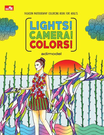Lights Camera Colors Buku Mewarnai Dewasa