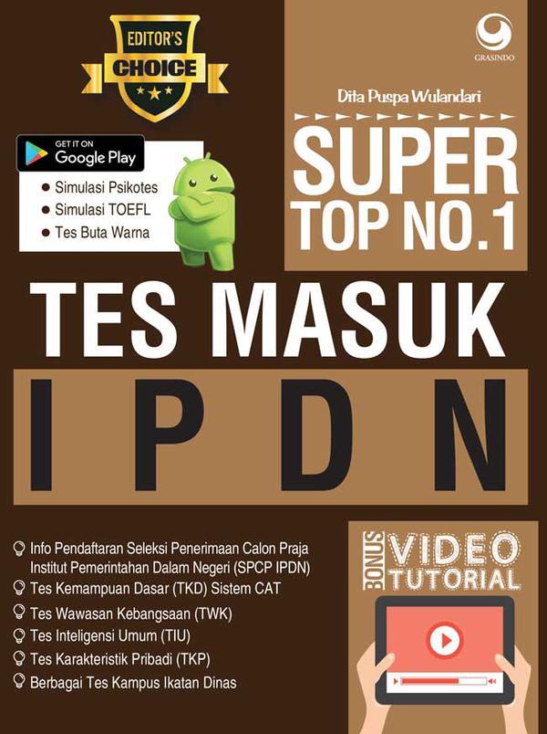 Super Top No 1 Soal Tes Masuk Ipdn
