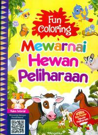 Fun Coloring Mewarnai Hewan Peliharaan Poster