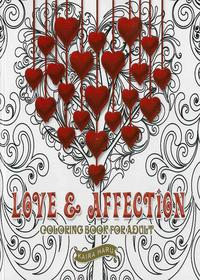 Coloring Book For Adult Love Affection