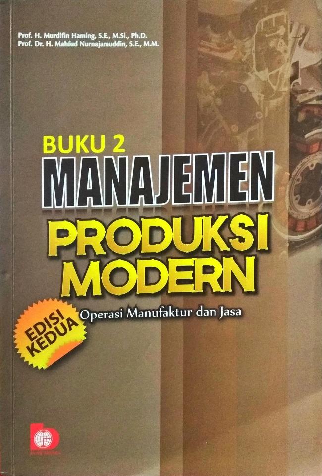 manajemen produksi modern