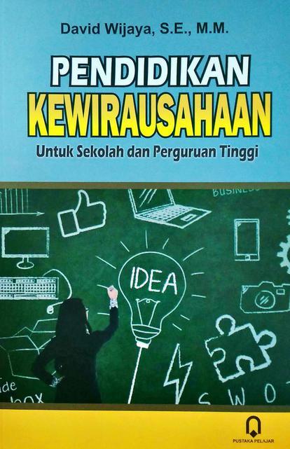 Poster Wirausaha Pendidikan - Profesional Teacher