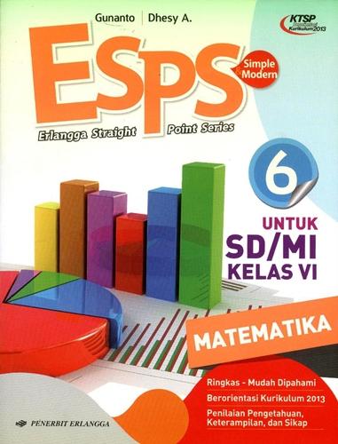 Jual Buku Sd Mi Kelas 6 Matematika Esps Erlangga Straight Point