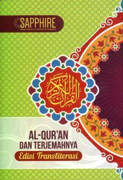 Al Quran Sapphire AqTerjemahnya Transliterasi A5