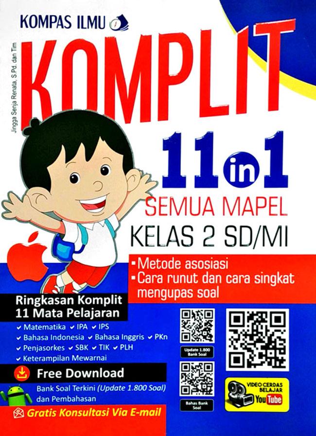 Komplit 11 In 1 Semua Mapel Kelas 2 Sd Mi