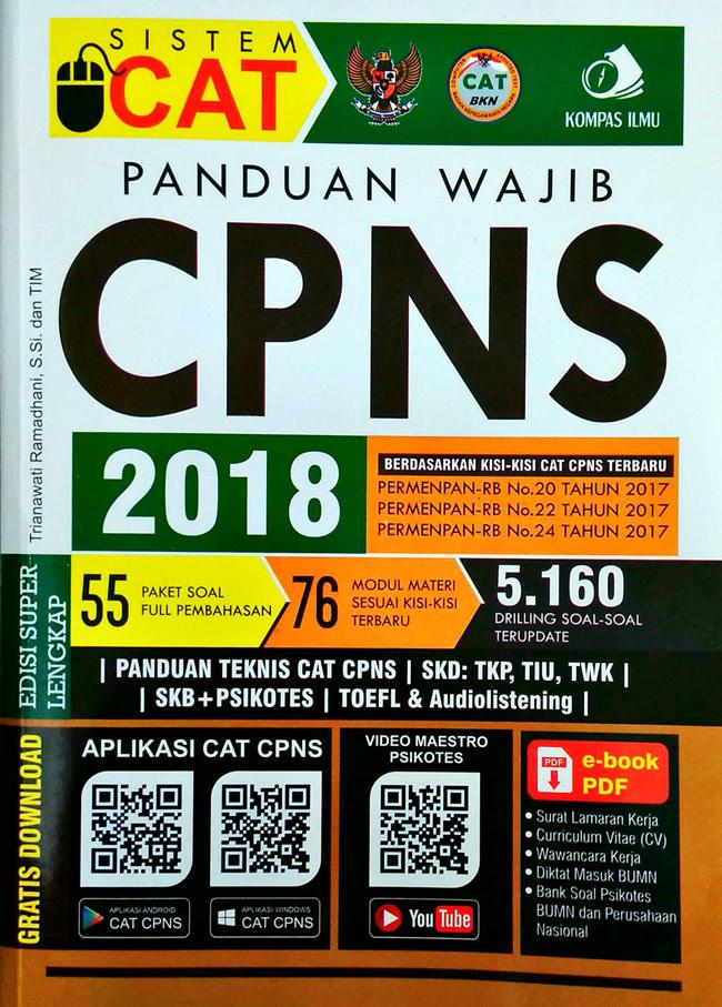 Download Buku Tes Cpns 2018 Pdf - Info Terkait Buku