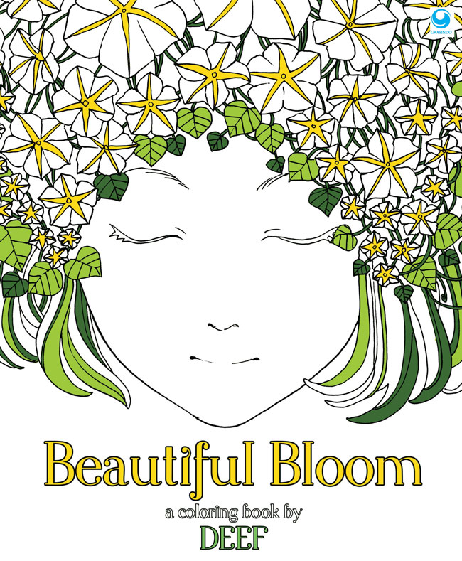 Beautiful Bloom A Coloring Book