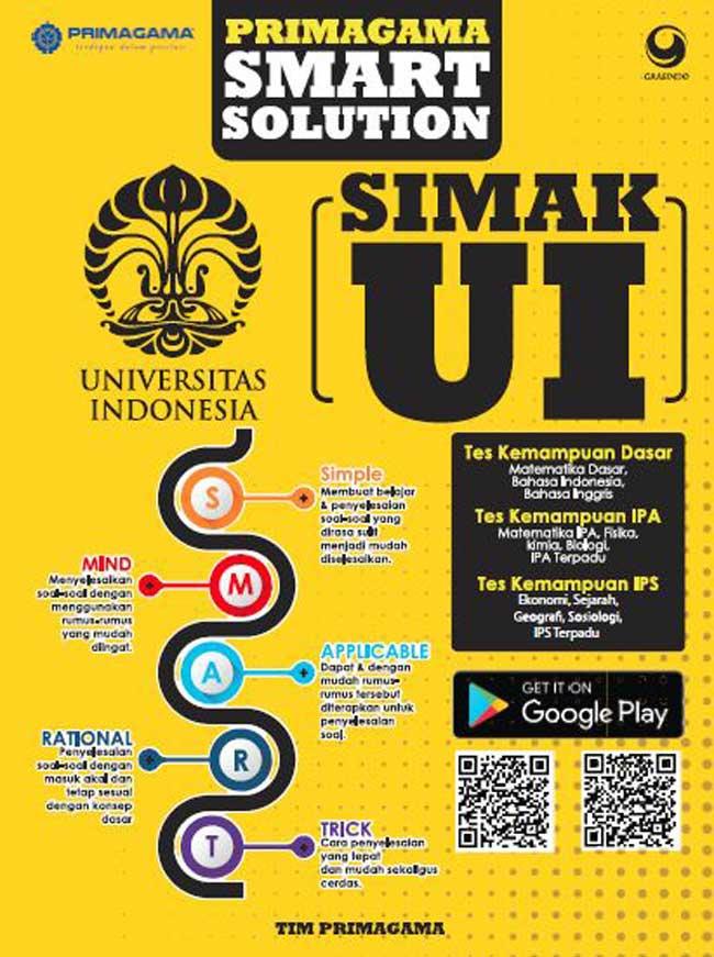 999 Lolos Usm Pkn Stan 2018 Primagama Smart Solution Usm Pkn Stan By Tim Primagama Aebbd90c