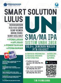 Primagama Smart Solution Lulus Un Sma/Ma Ipa 2018