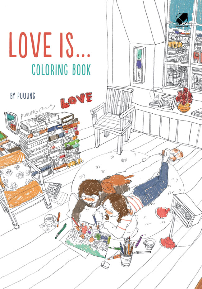 Love Is Coloring Book