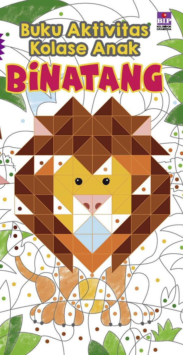 Buku Aktivitas Kolase Anak Binatang