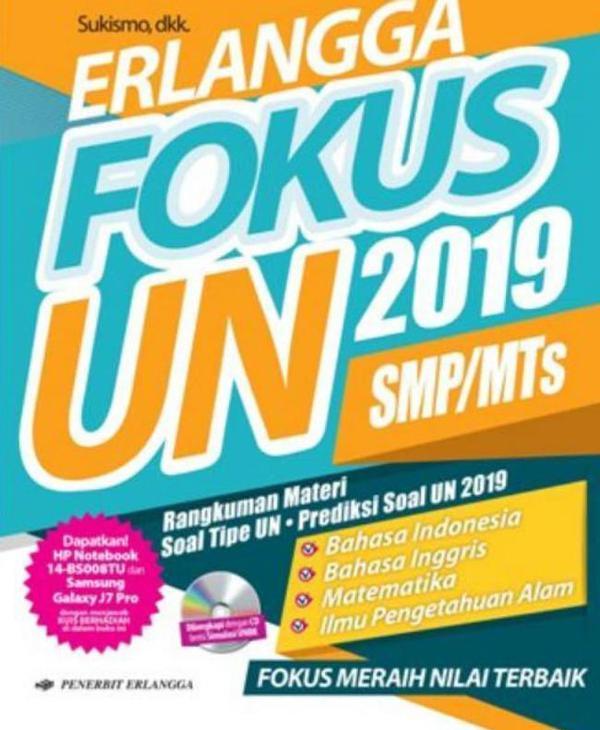 Smp Mts Erlangga Fokus Un 2019