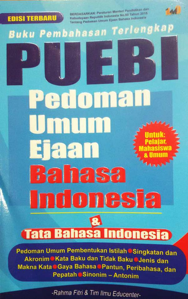 Ebook Tata Bahasa Indonesia