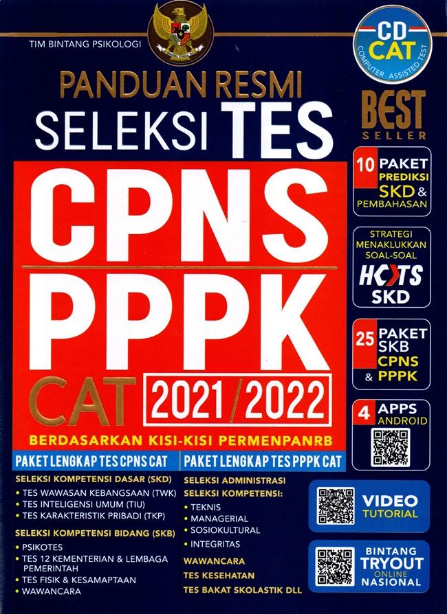 Panduan Resmi Seleksi Tes Cpns&Pppk Cat 2021/2022/Tim Binta