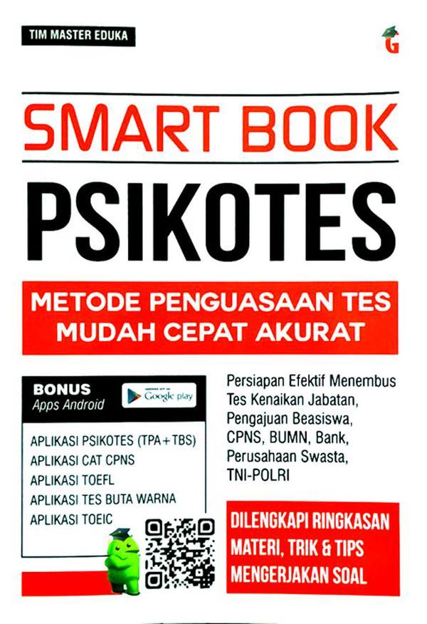 Smart Book Psikotes Metode Penguasaan Tes Mudah Cepat Akurat