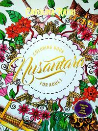 Colorong Book For Adult Nusantara Sumatra Jawa