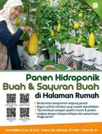Panen Hidroponik Buah & Sayuran Buah di Halaman Rumah
