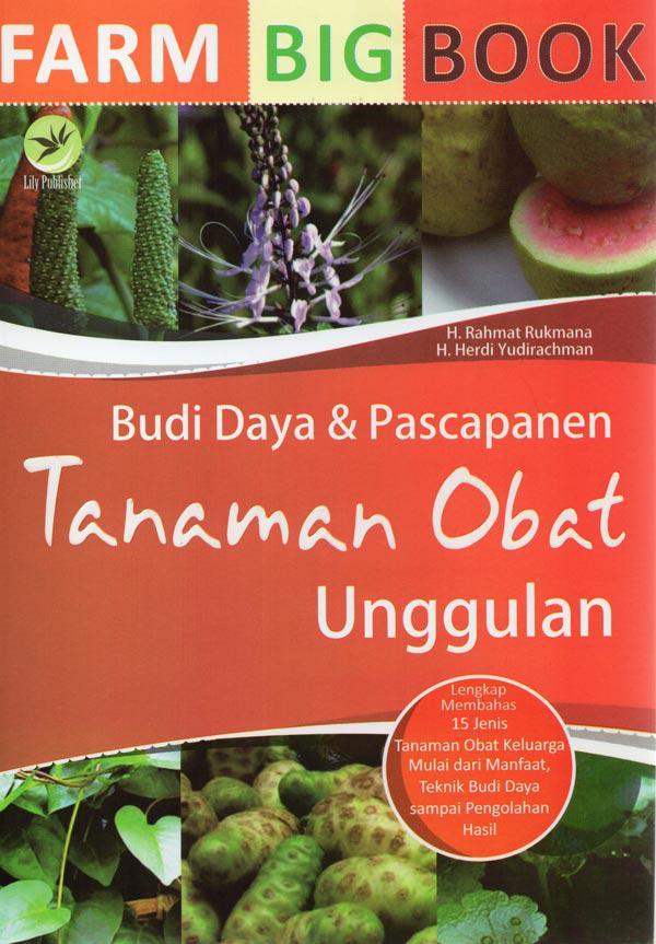 Farm Big Book : Budi Daya & Pascapanen Tanaman Obat Unggula