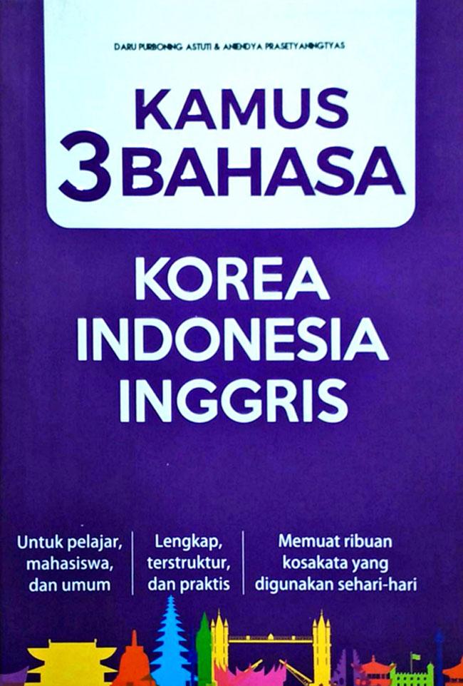 Kamus 3 bahasa korea indonesia inggris stopboris Choice Image