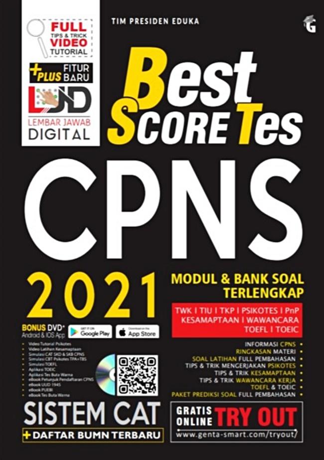 best score tes cpns
