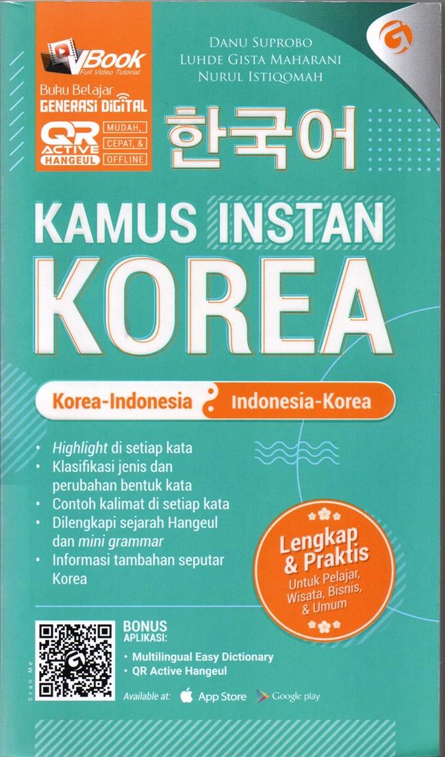 Kamus Instan Korea : Korea -Indonesia , Indonesia-Korea -