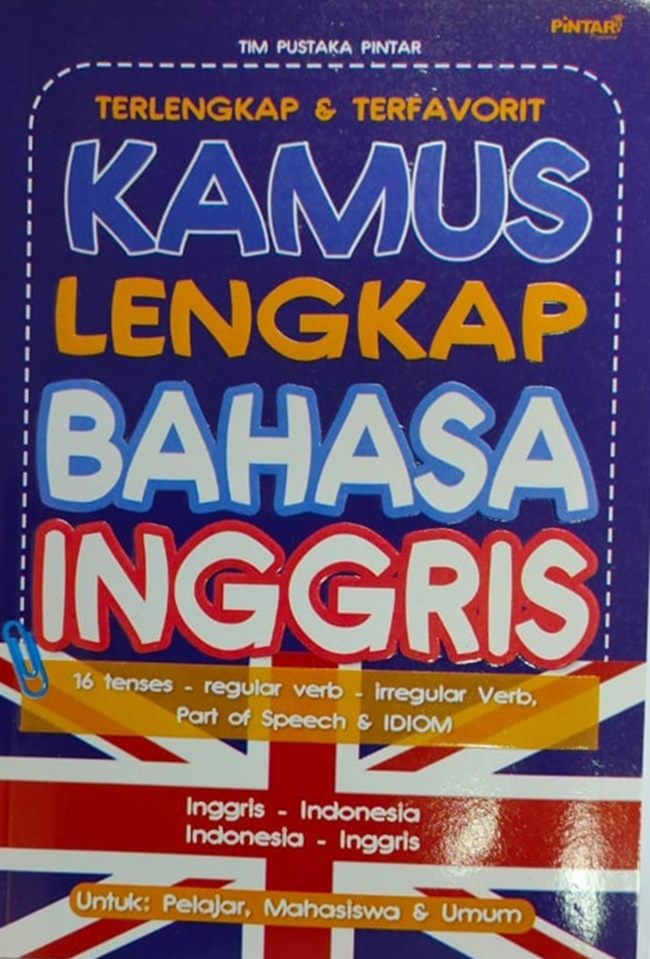 Kamus Lengkap Bahasa Inggris