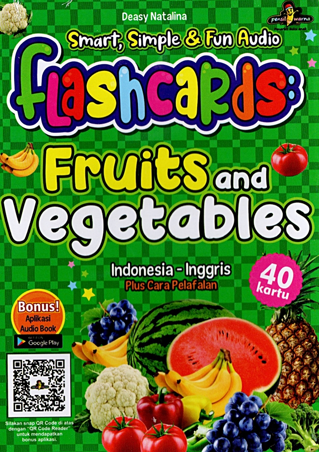 Smart, Simple & Fun Audio Flashcards Fruit & Vegetables