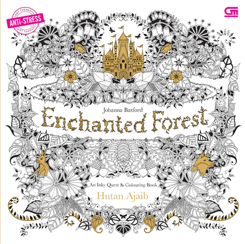 Anti Stress Hutan Ajaib Enchanted Forest