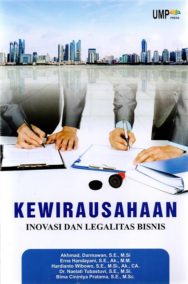 Kewirausahaan Inovasi Dan Legalitas Bisnis