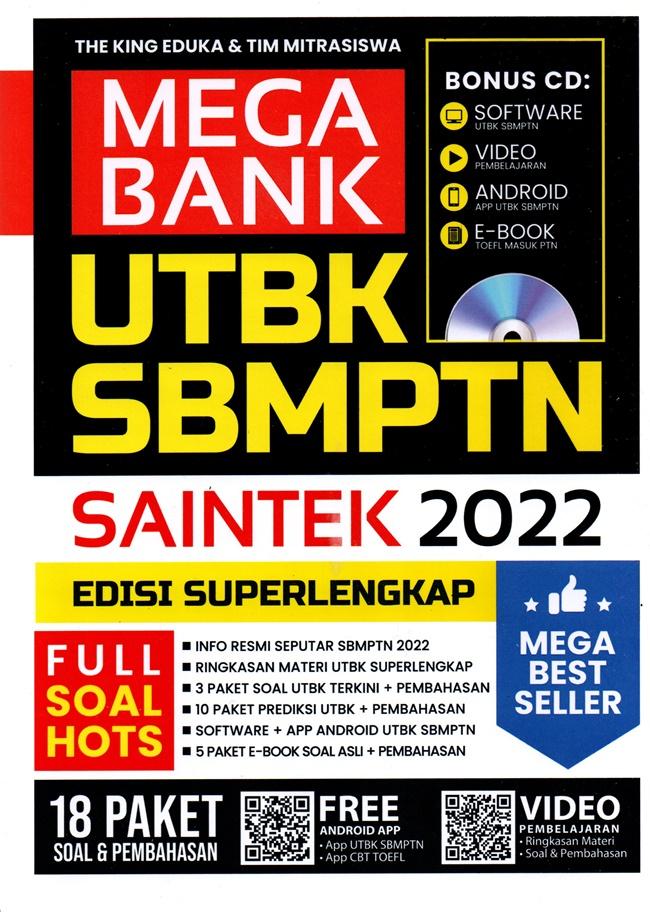 Mega Bank Sbmptn Saintek 2022 (Plus Cd)