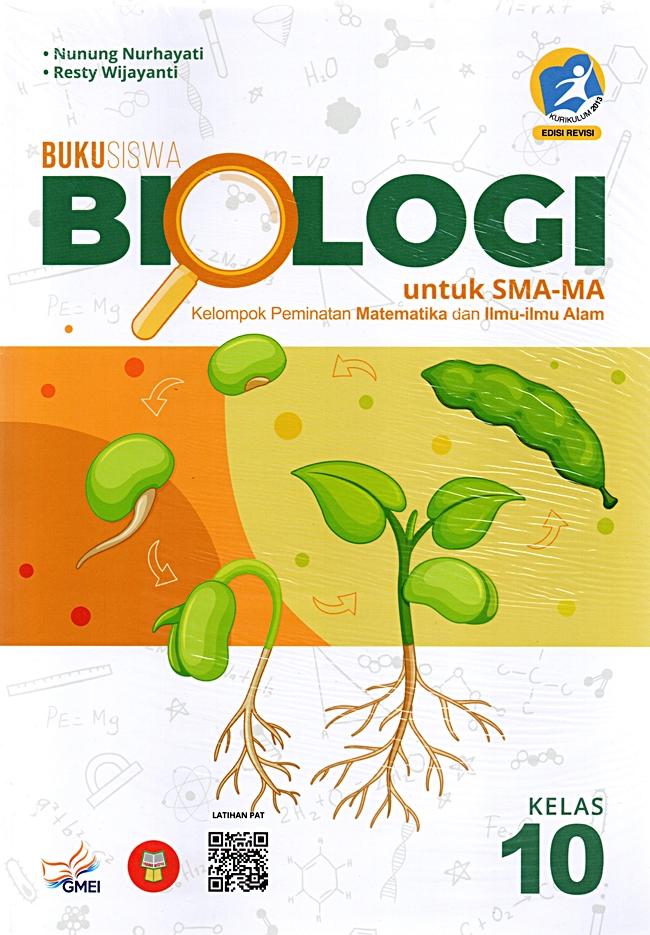 Sma/Ma Kls.X Biologi : Buku Peminatan Mipa Premium K13-R