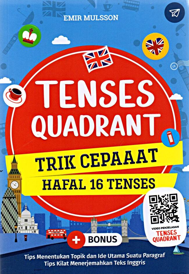 Tenses Quadrant Trik Cepat Hafal 16 Tenses