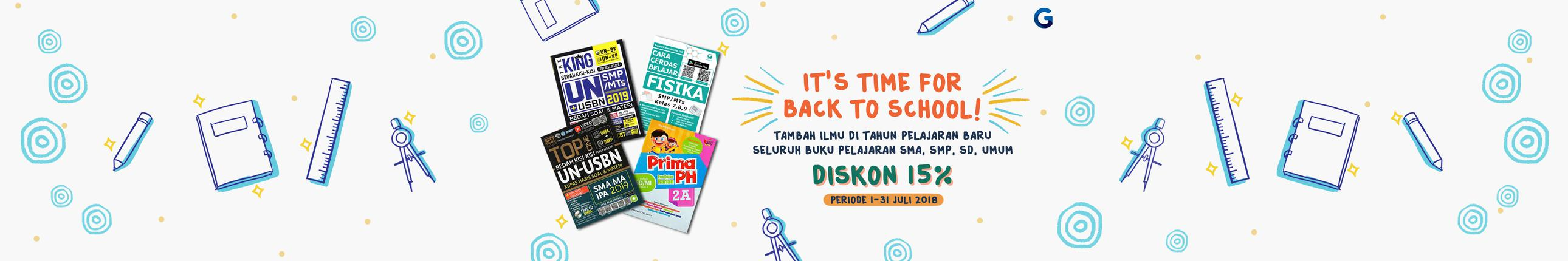 Promo Gramedia Back To School